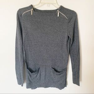 MICHAEL KORS | soft front pocket sweater size XS